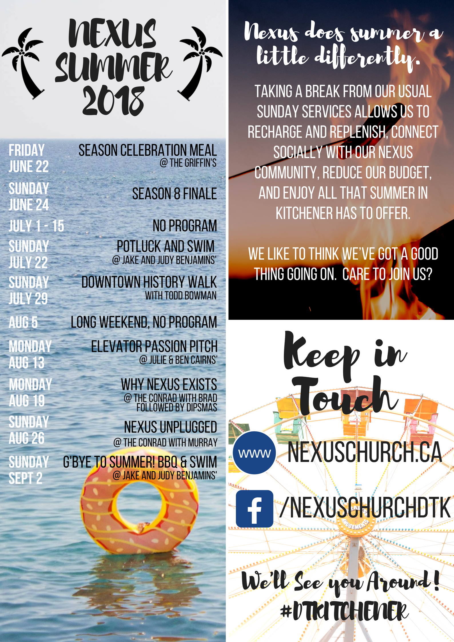 Nexus Summer 2018 Poster